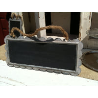 Chalkboard - Scalloped Hanging Rectangle