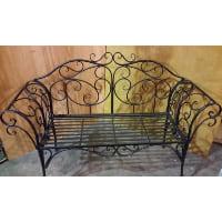Bench - Fancy Wrought Iron