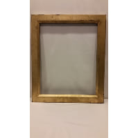 Frame - Gold Medium Heavy Empty