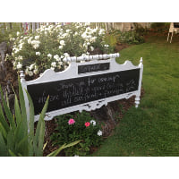 Chalkboard - Cottage Bed