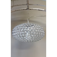 Chandelier - Crystal Globe