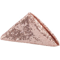 Napkin - Blush square sequin