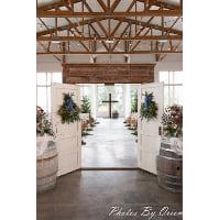 Arch - Barn Wood Solid Double Door Entry