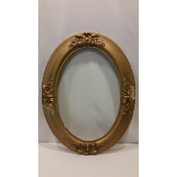 Frame - Oval Gold Empty
