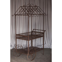 Cart - Garden cart brown