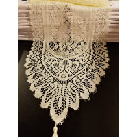 Runner - Lace Point End Ivory