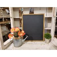 Chalkboard - Thin gold frame