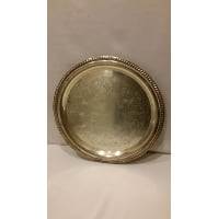 Tray - Silver Round Large 16