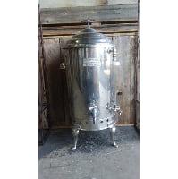Beverage Dispenser - Vintage Silver
