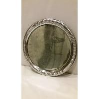 Tray - Silver Round Shiny 13