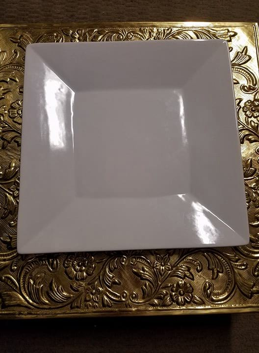 Platter - White Square