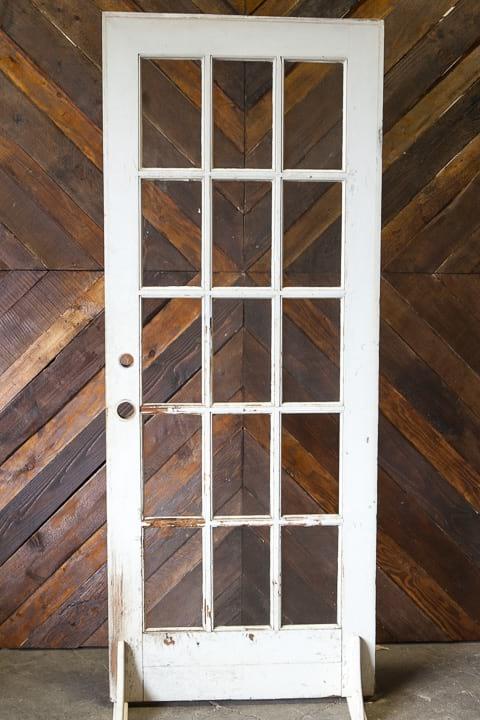 Door - White 15 Window
