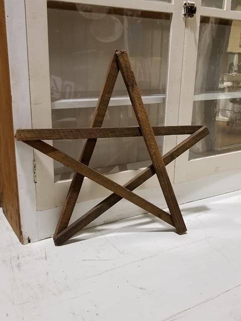 Star - Wood decor