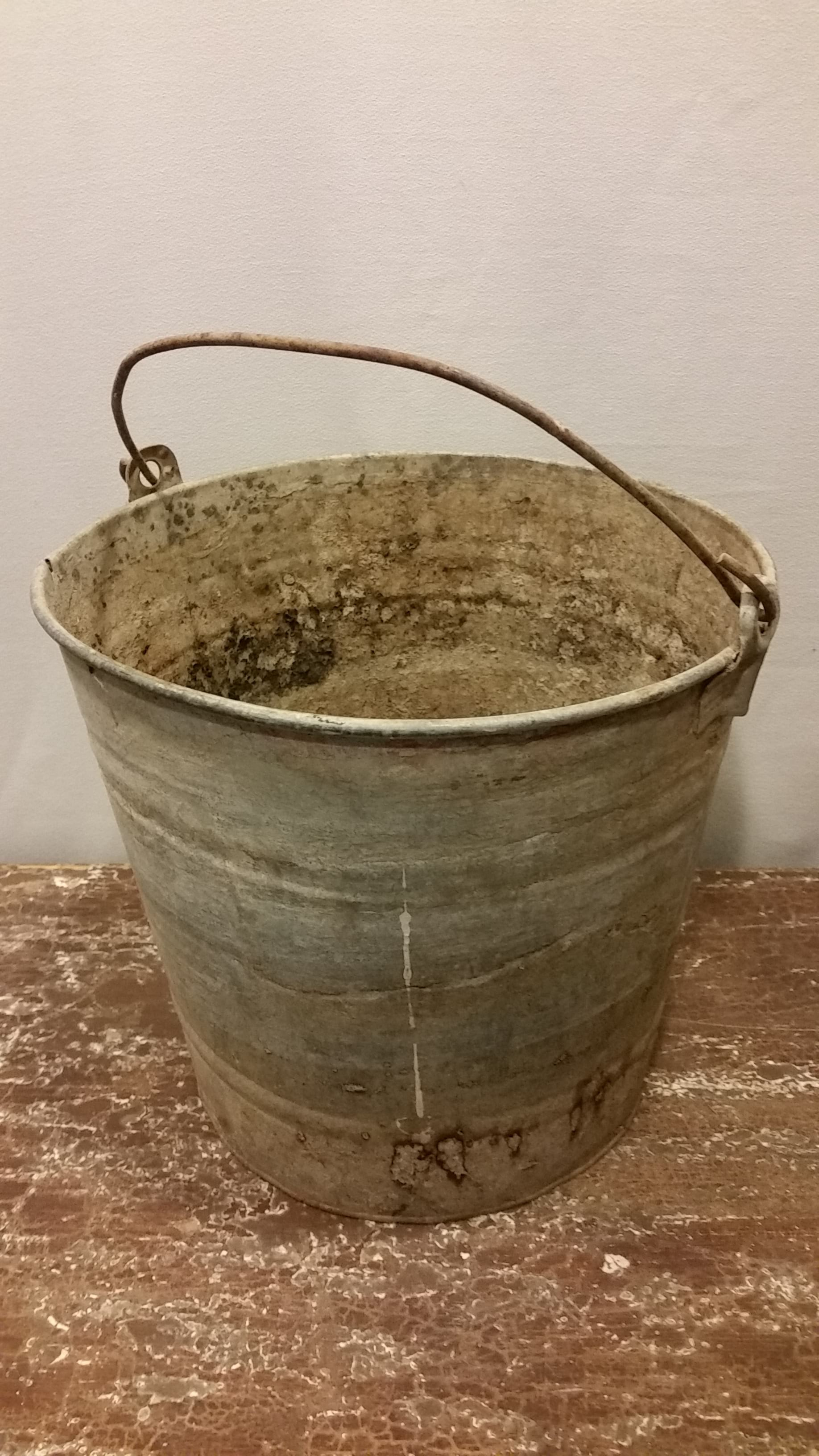 Bucket - Rustic Galvanized Medium