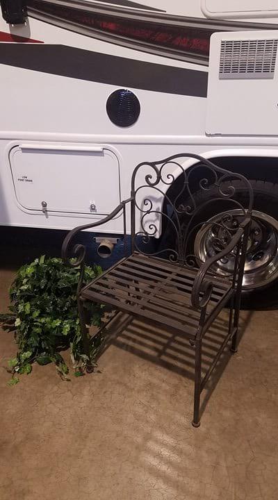 Chair - Dark Wrought Iron