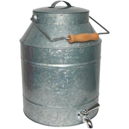 Beverage Dispenser - Galvanized Tin 2 gal
