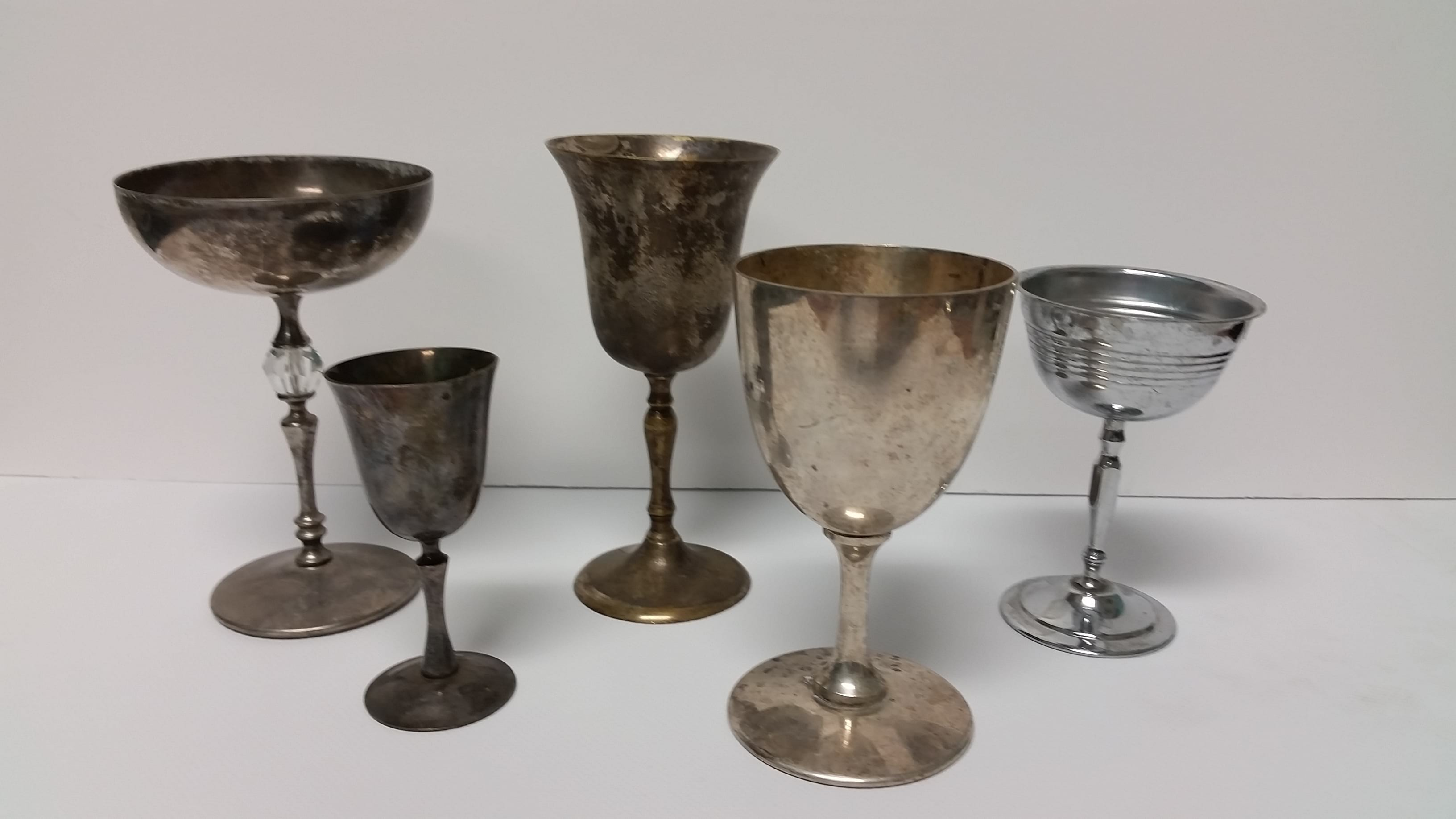 Goblet - Silver Assorted