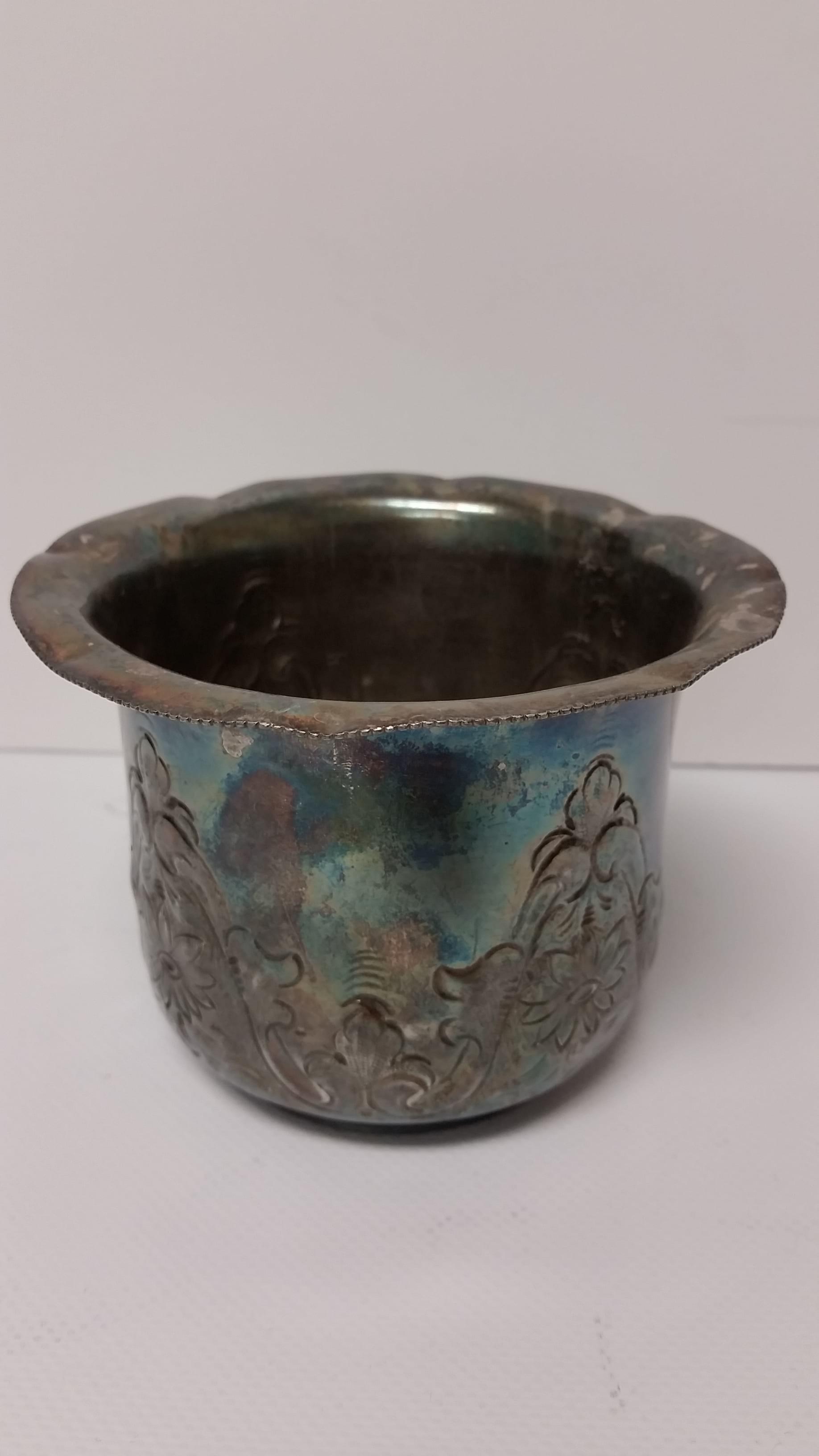 Silver - Daisy Bowl
