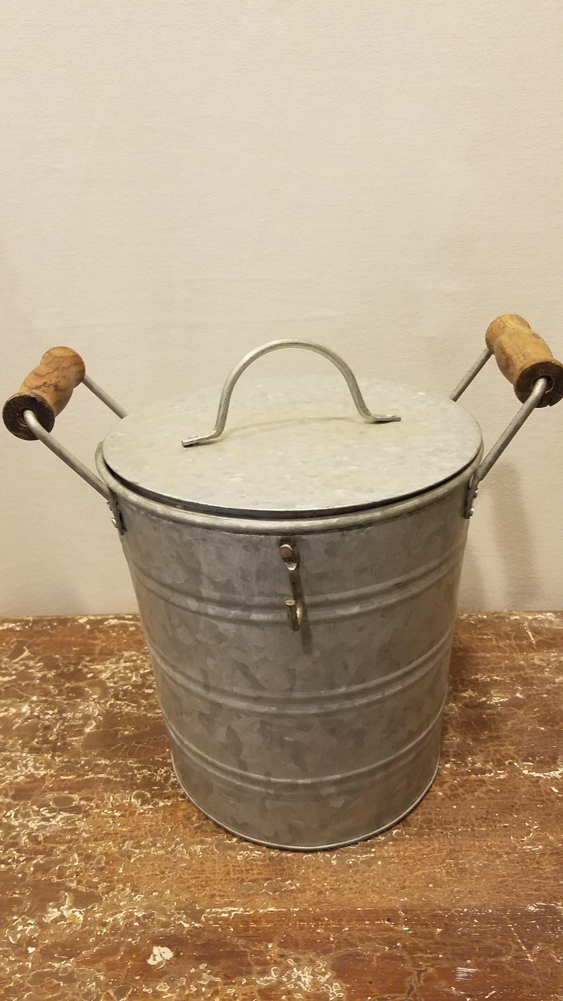 Bucket - Galvanized Ice Cooler