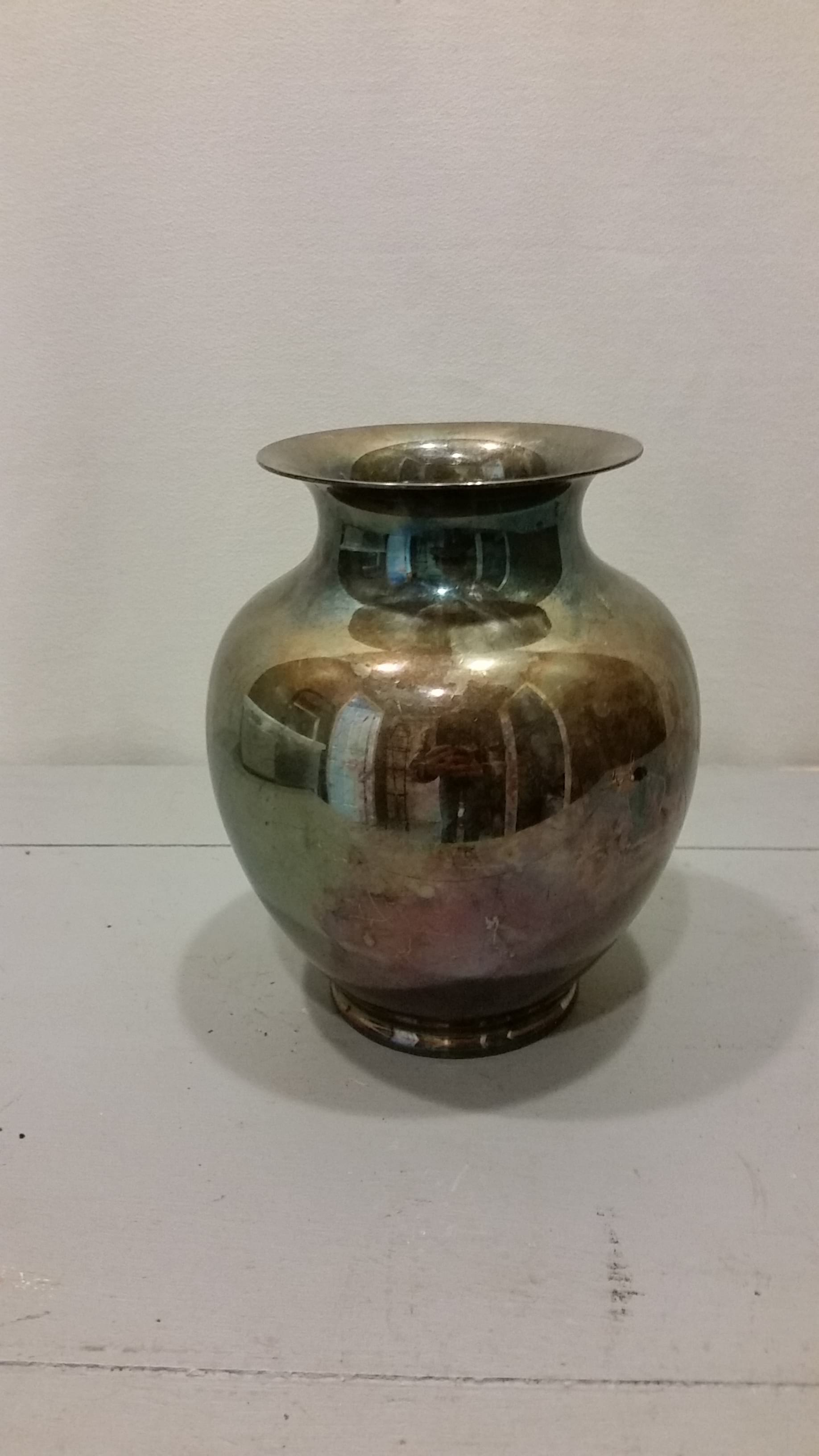 Vase - Silver Antique
