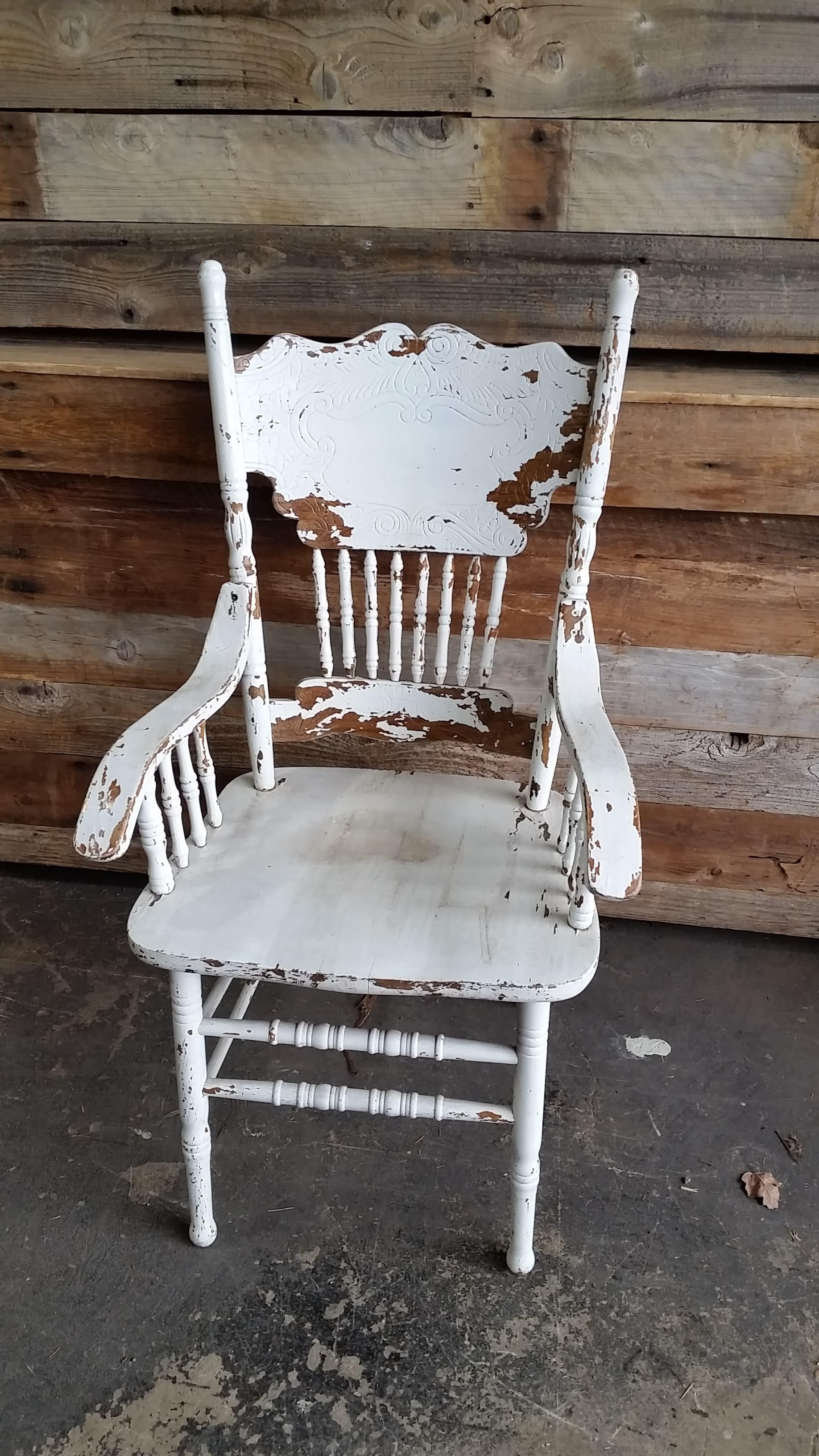Chair - Charlotte White Arm