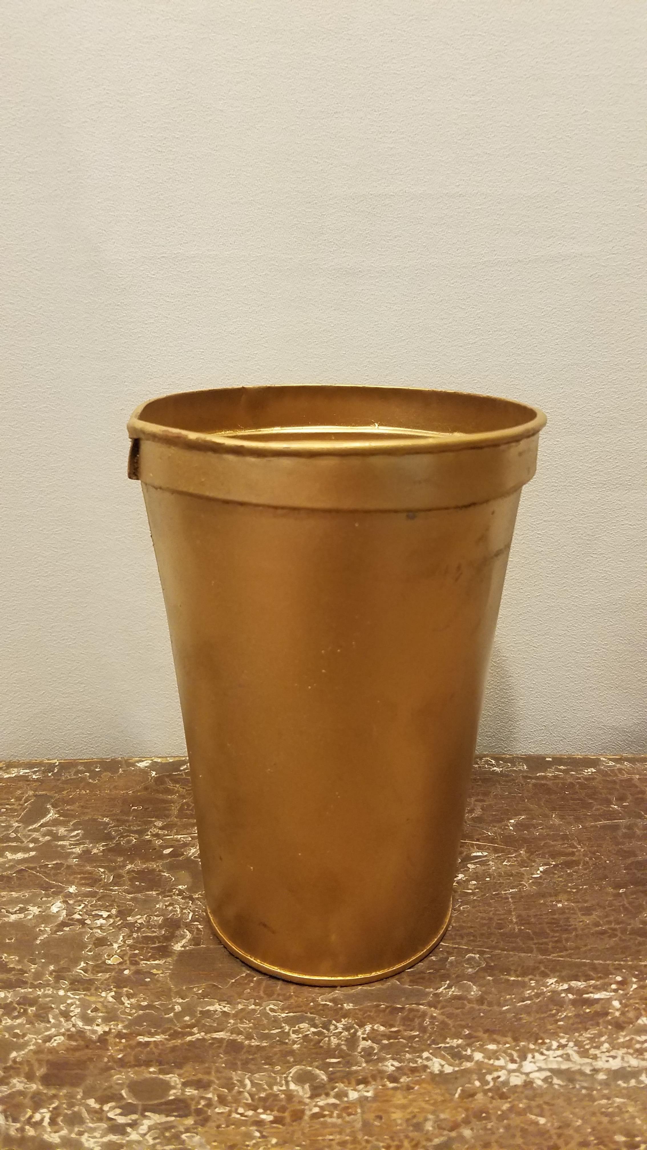 Bucket - Gold Metal