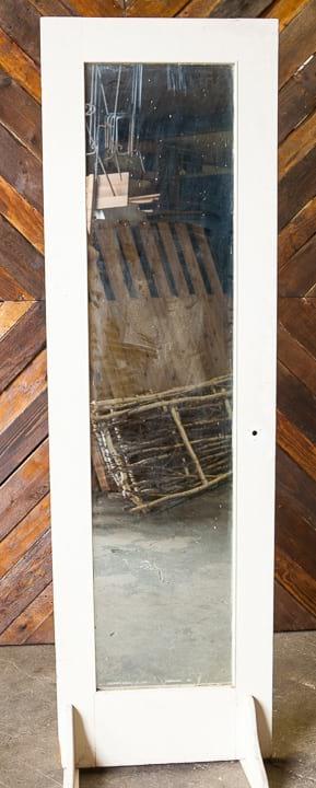 Door - Antique White 8' Full Mirror Pane