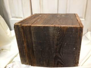 Box - Large Barn Wood
