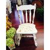 ff17 Shabby wood chair