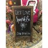 S924 Let Love Sparkle Sandwhich Board