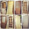 d167 assorted vintage doors