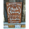 S886 Bucket List for Bride and Groom