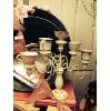 d59 5-tiered vintage tea cup tealight holder