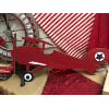 s838 red airplane sign