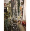 A66 Bronze with Crystals Chandelier