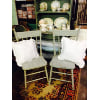 ff86 Set of Mint Sage Chairs
