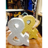 S350 Ampersand Silver or Gold
