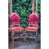 ff192 burgandy wine chair