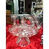 z166 clear cake stand crystal 8