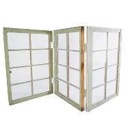 Freestanding 3-window sign