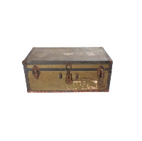 Eisenhower Army Trunk