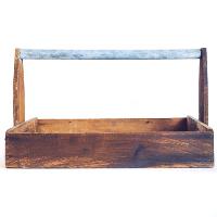Wood Gardening Crate
