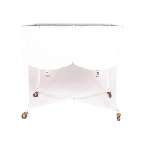 White Double Wash Basin