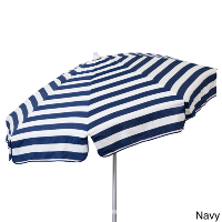 Navy + White Umbrella
