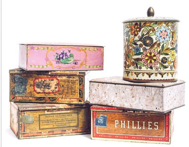Assorted Tea Tins