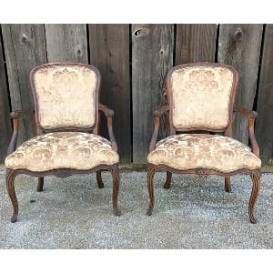 CLAUDETTE GOLD TAPESTRY CHAIR