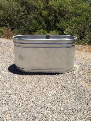 THOR LARGE OVAL GALVANIZED TUB