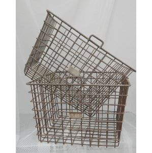 Vintage Gym Baskets