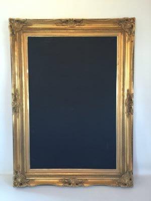 Gabrielle and Gabriella Antique Gold Frame  24 x 36