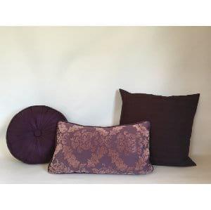 Plum Pillow Set